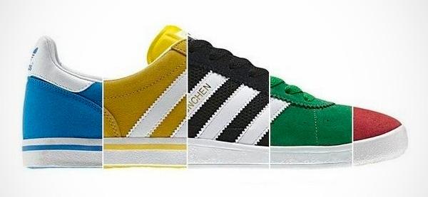 Olympijská obuv značky Adidas