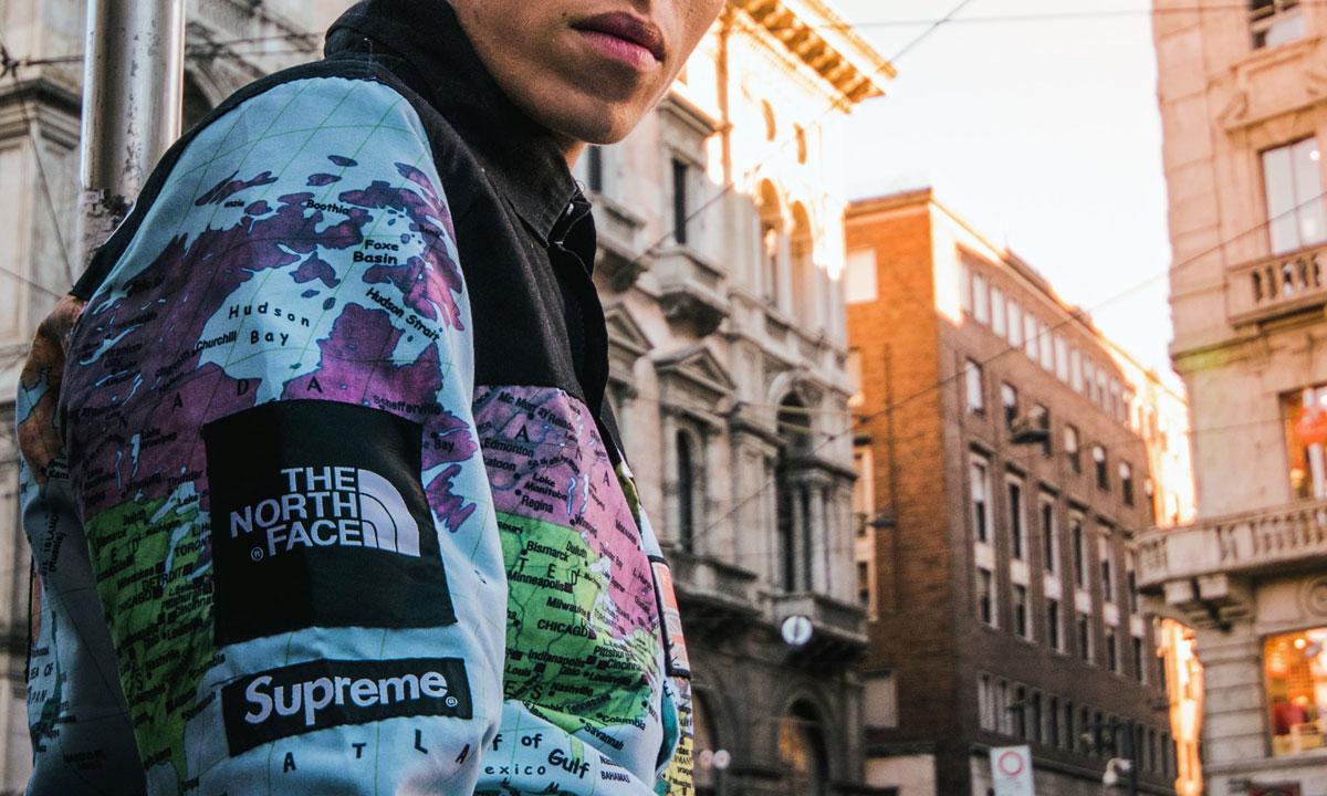 Spolupráca The North Face x Supreme