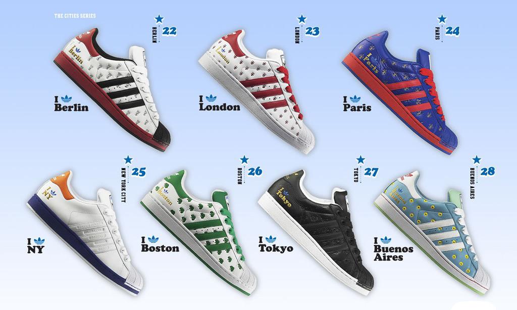 Adidas Superstar - city series