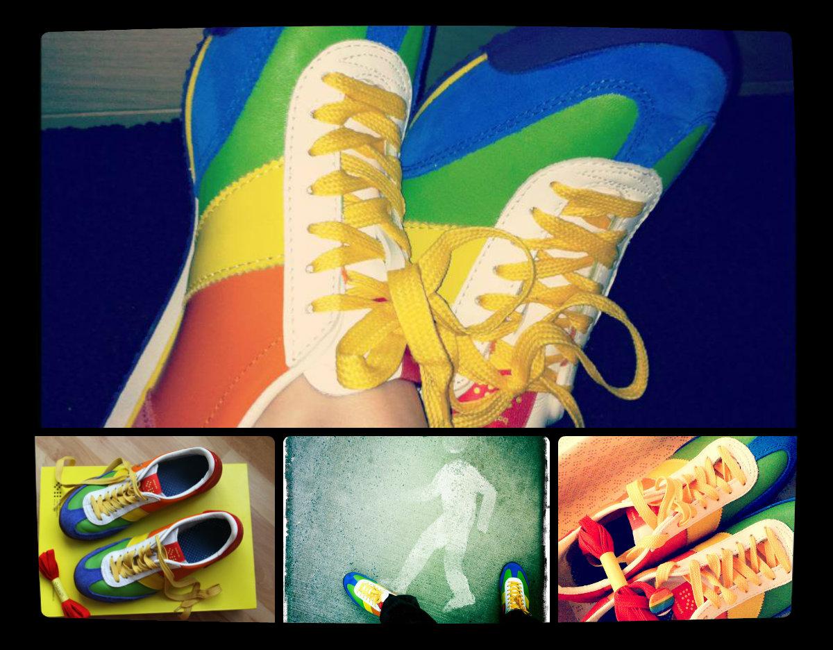 Botas 66 Rainbow Maker