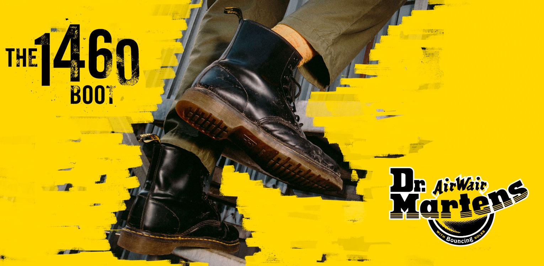 Dr. Martens - zimný model obuvi Dr. Martens 1460 Boots