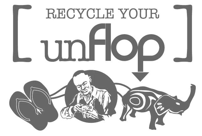 Recyklujte šľapky