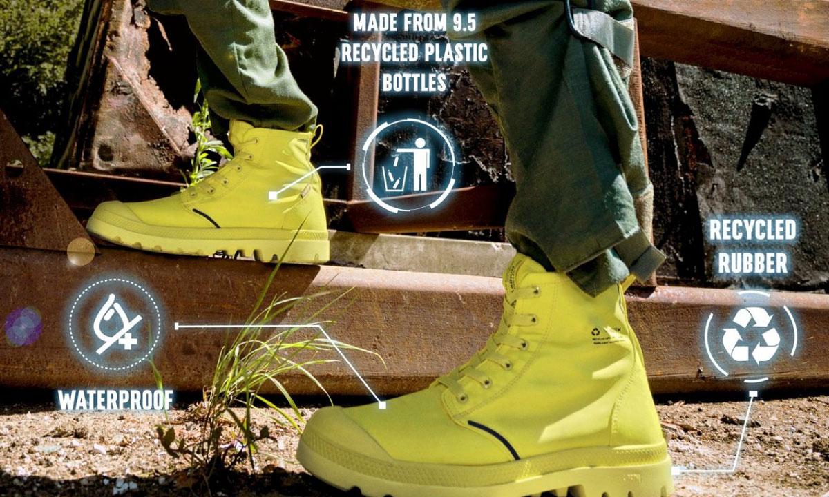 Recyklované topánky Palladium