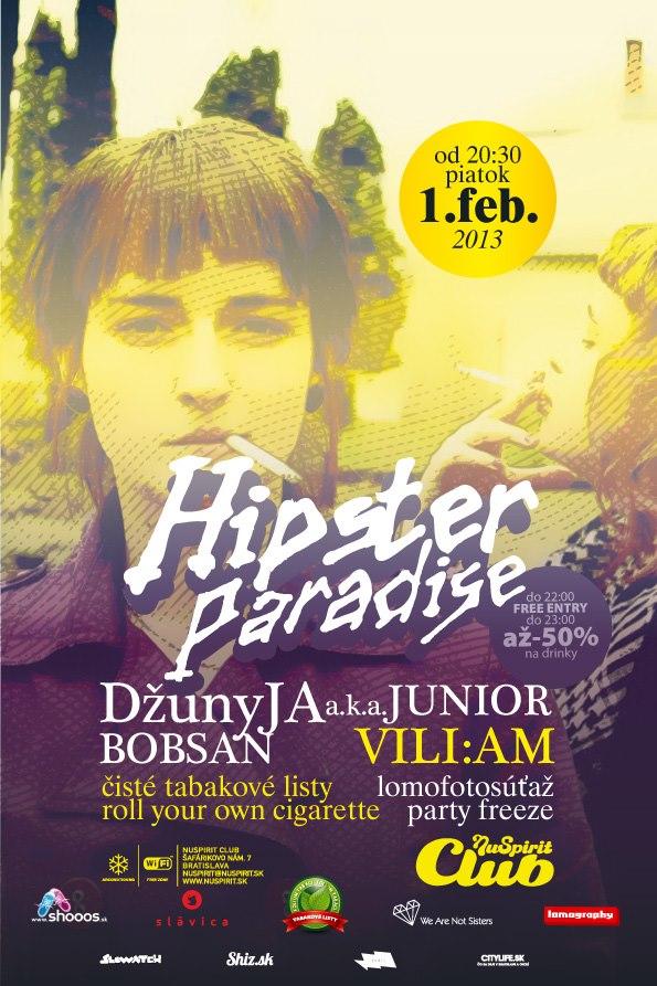 Plagát Hipster Paradise