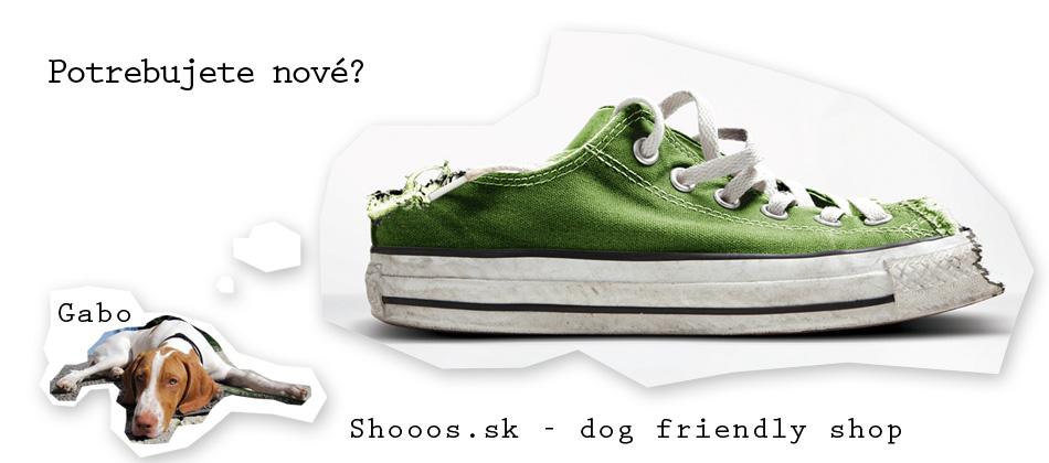 Prídite si kúpiť topánky so psíkom