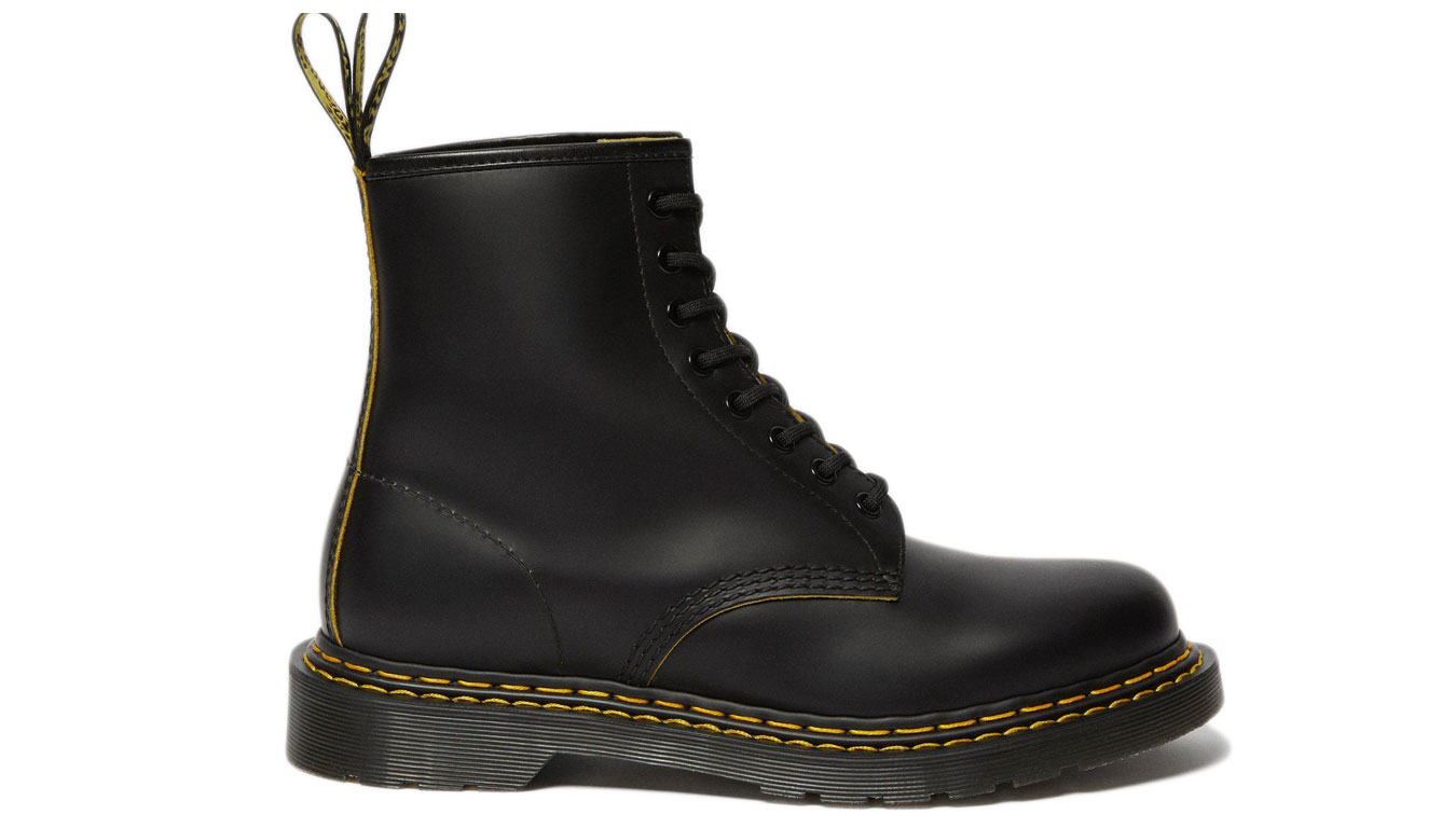 Dr. Martens 1460 Double Stitch Leather Ankle Boots čierne DM26100032