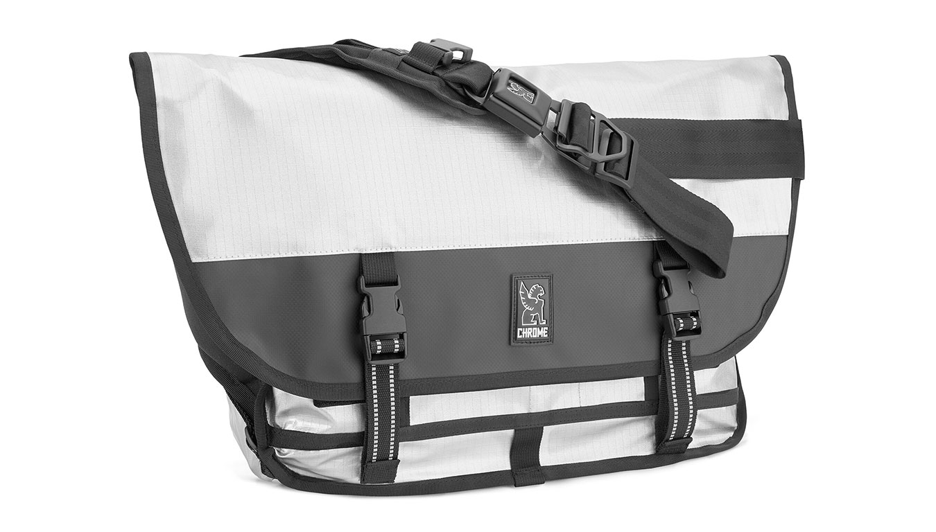Chrome Citizen Messanger Bag Chromed šedé BG-002-CRMD-NA-NA
