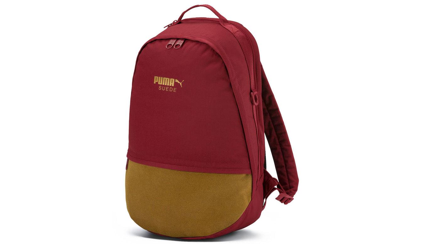Puma Suede Backpack červené 07508702 - vyskúšajte osobne v obchode