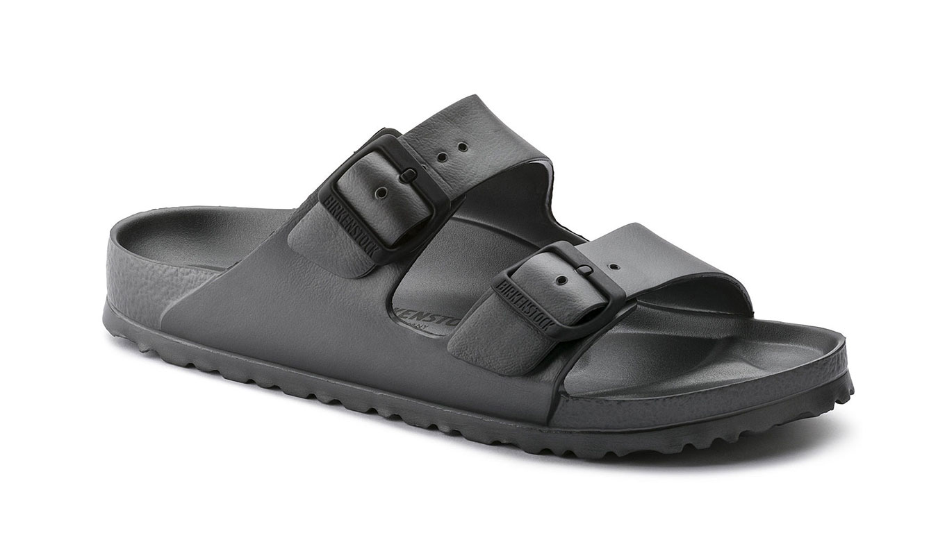 Birkenstock Arizona EVA Metallic Anthracite W čierne 1001498