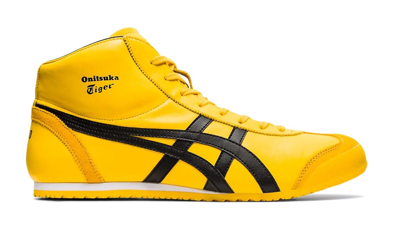 Onitsuka Tiger Mexico Mid Runner žlté 1183b577-750 - vyskúšajte osobne v obchode