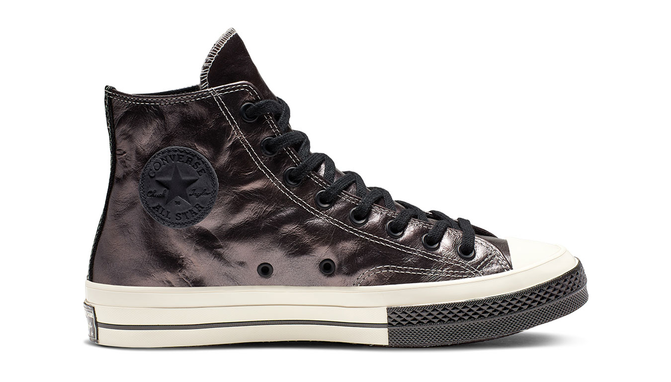 Converse Chuck 70 Flight School Leather High-Top fialové 165049C