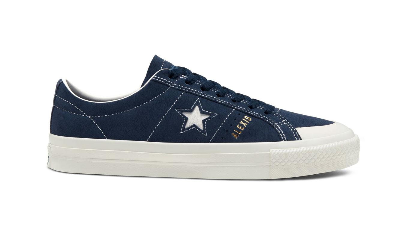 Converse One Star Alexis Pro modré 167615C - vyskúšajte osobne v obchode