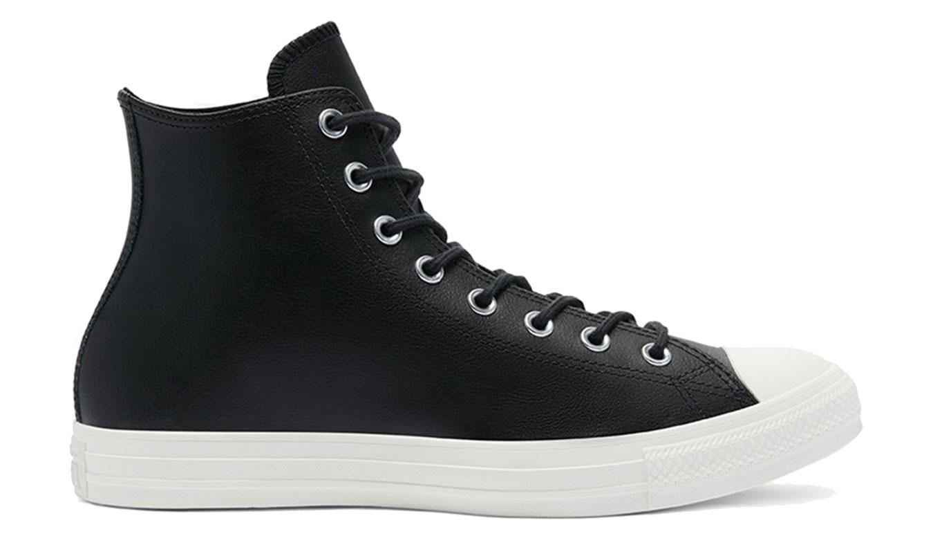 Converse Chuck Taylor All Star High Color Leather Black čierne 170100C - vyskúšajte osobne v obchode