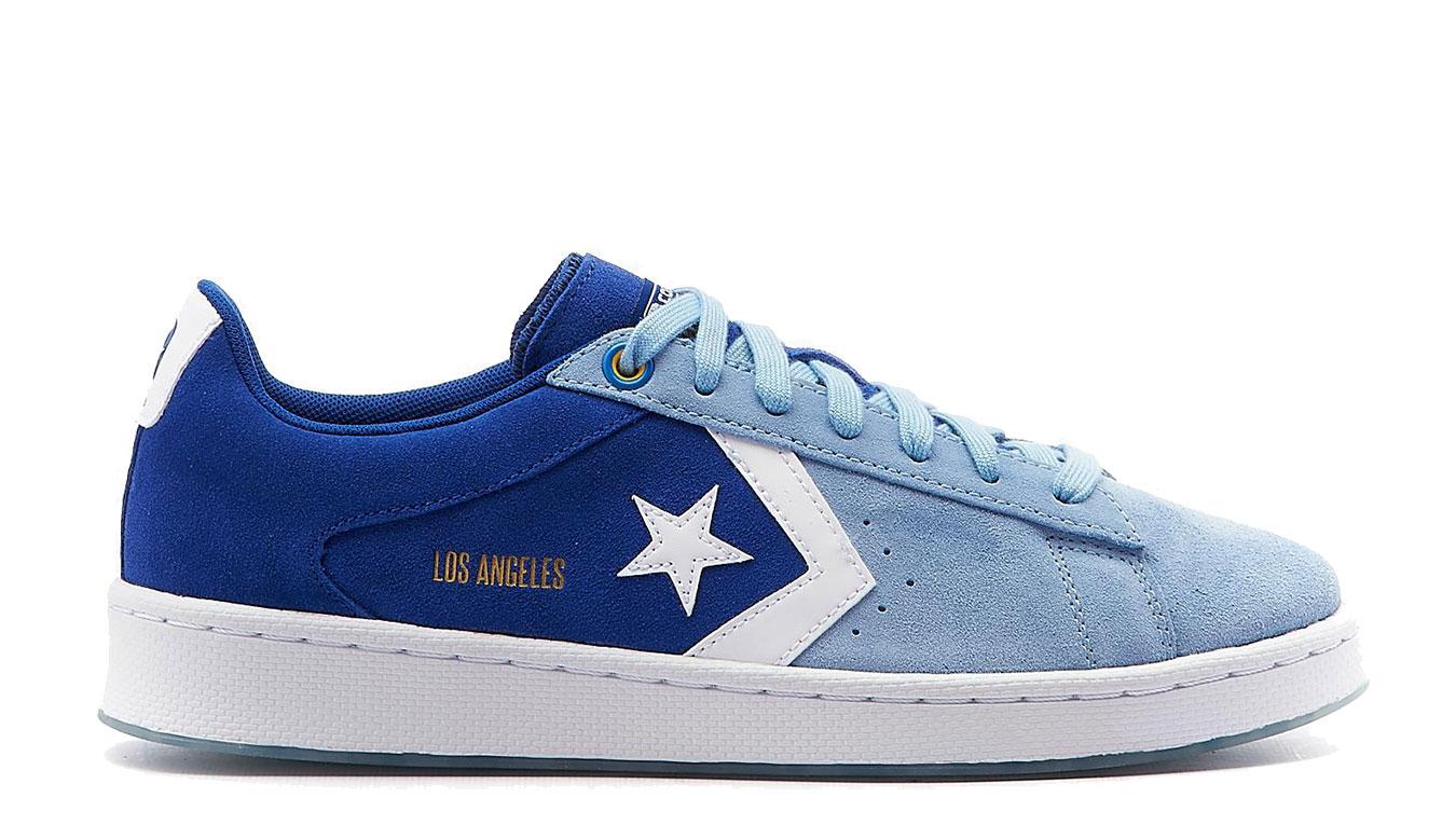 Converse Pro Leather OX modré 170239C - vyskúšajte osobne v obchode