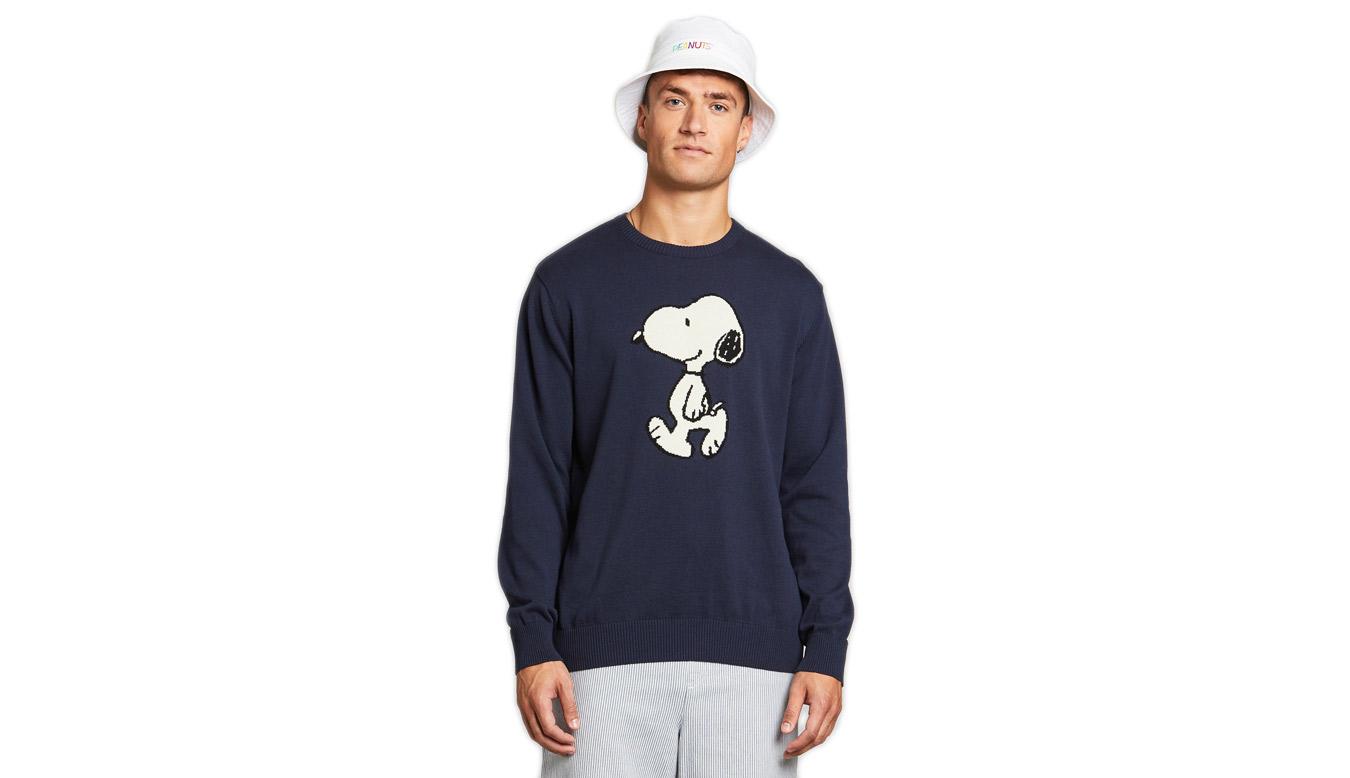 Dedicated Sweater Mora Snoopy Navy modré 18542 - vyskúšajte osobne v obchode