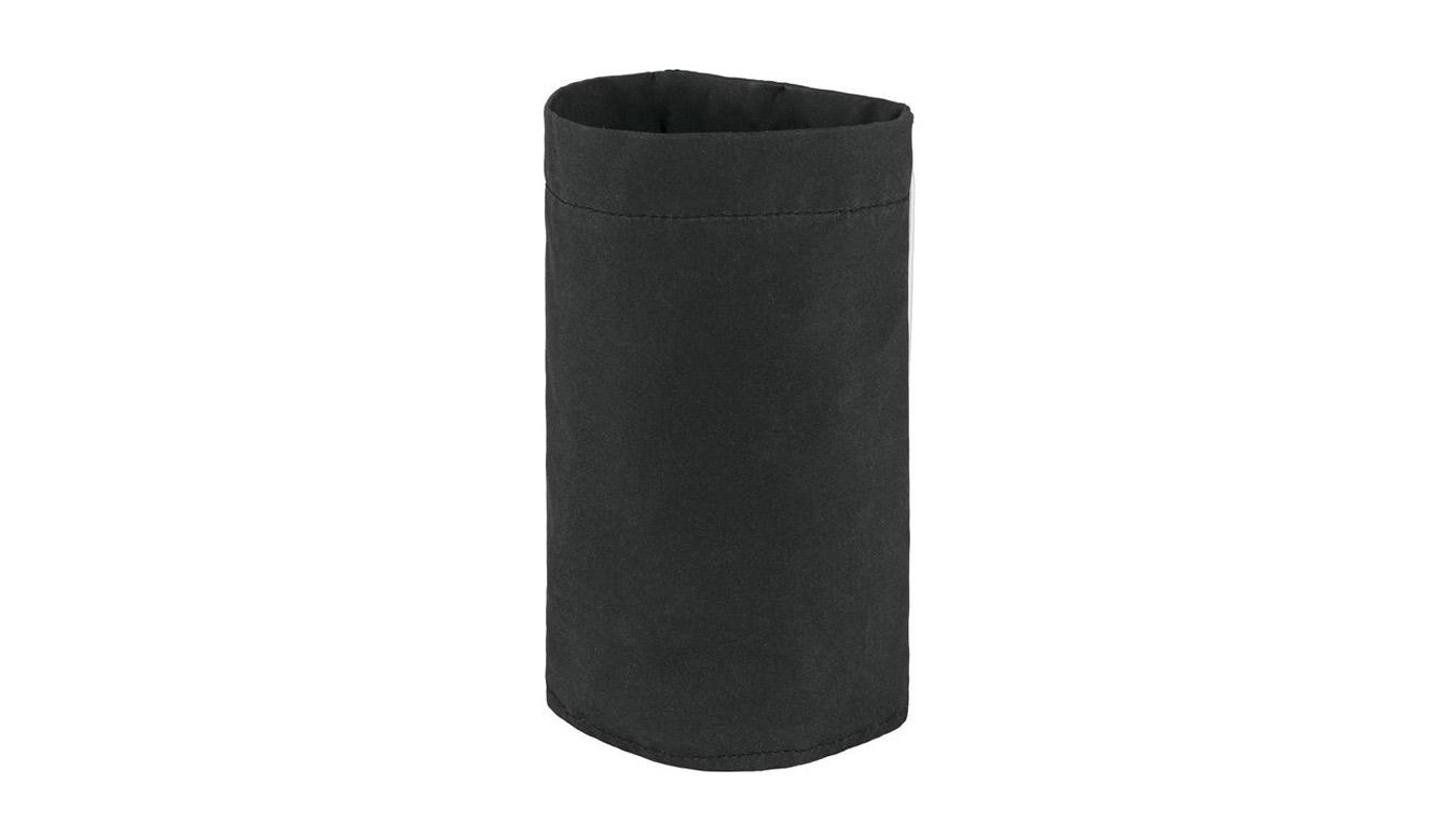 Fjällräven Kånken Bottle Pocket čierne F23793-550 - vyskúšajte osobne v obchode