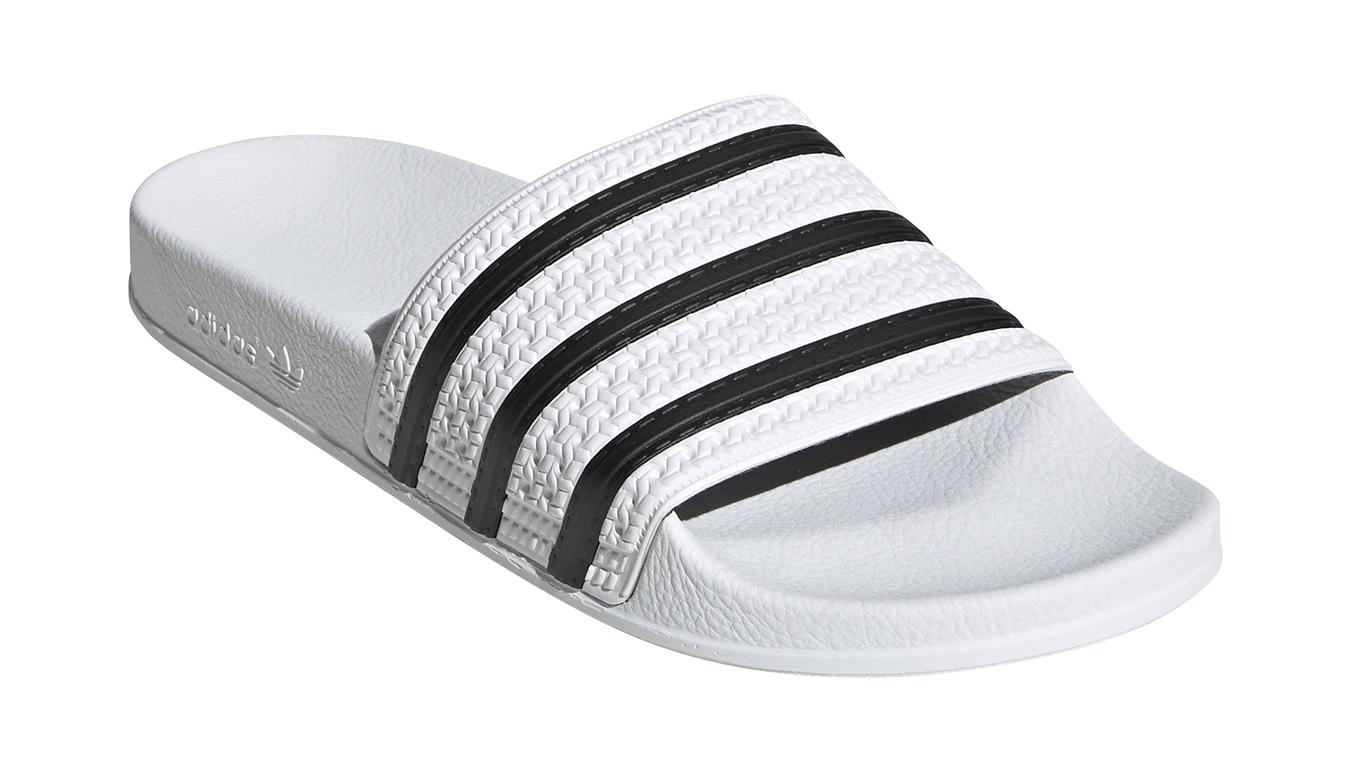 adidas Adilette biele 280648 - vyskúšajte osobne v obchode