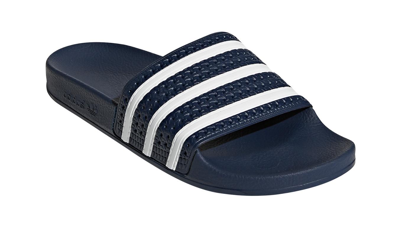 adidas Adilette modré 288022 - vyskúšajte osobne v obchode