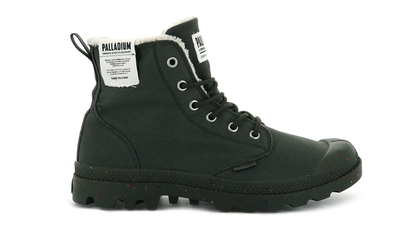 Palladium Boots Pampa Earth Olive Night zelené 76437-309-M
