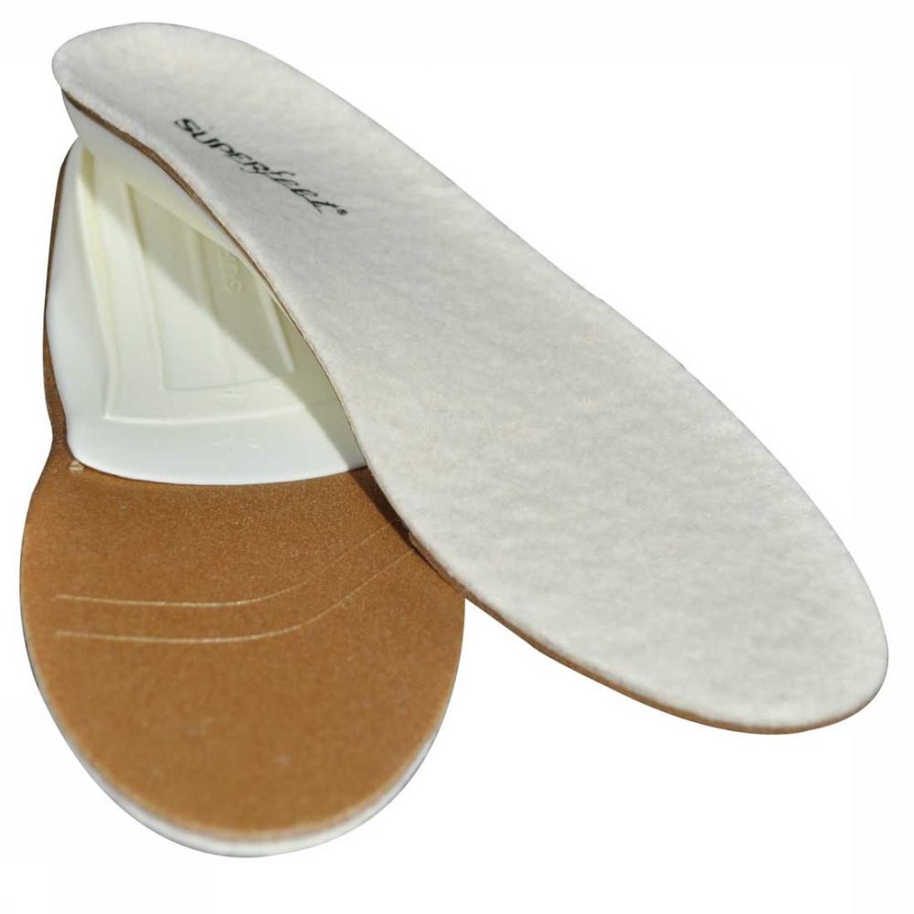 Vložky do topánok - Superfeet wooly WHITE