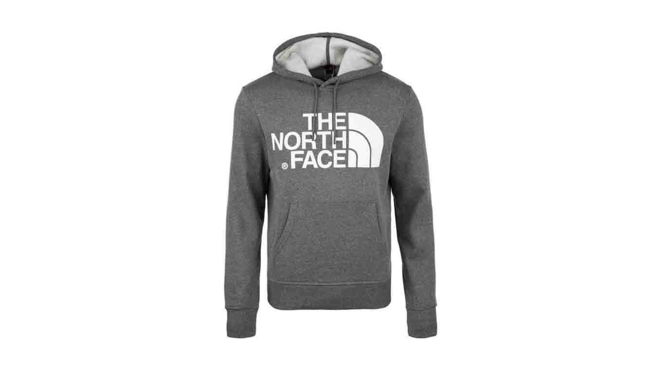 The North Face M Standart Hoodie Grey šedé T93XYDDYY