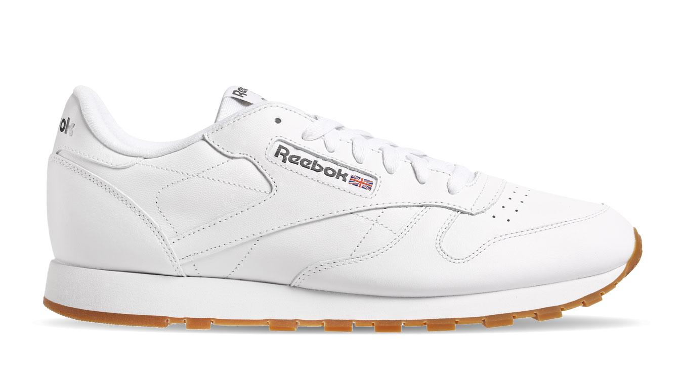 Reebok Classic Leather White M biele 49799 - vyskúšajte osobne v obchode