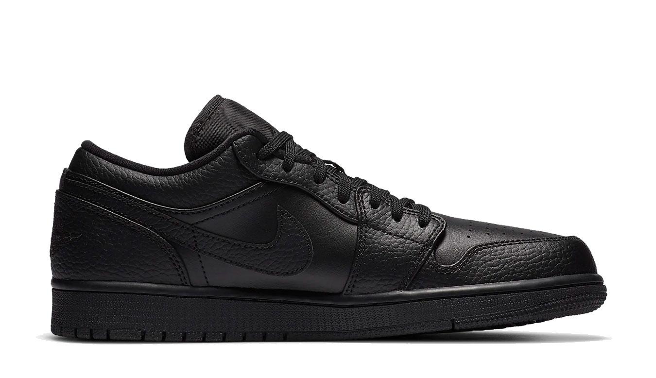 Nike Air Jordan 1 Low čierne 553558-091 - vyskúšajte osobne v obchode