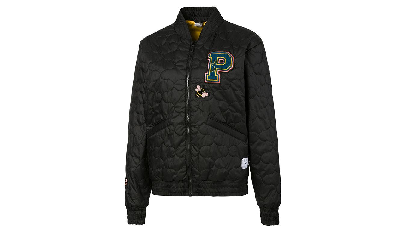Puma x Sue Tsai Women's Varsity Jacket čierne 595234_01 - vyskúšajte osobne v obchode