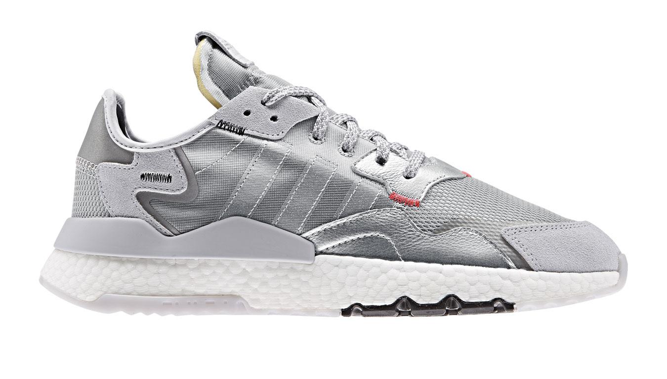 adidas Nite Jogger SILVMT/LGSOGR biele EE5851 - vyskúšajte osobne v obchode