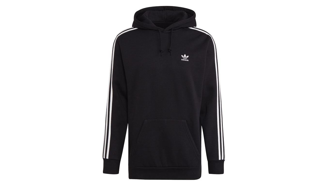 adidas 3-Stripes Hoody čierne H06676 - vyskúšajte osobne v obchode