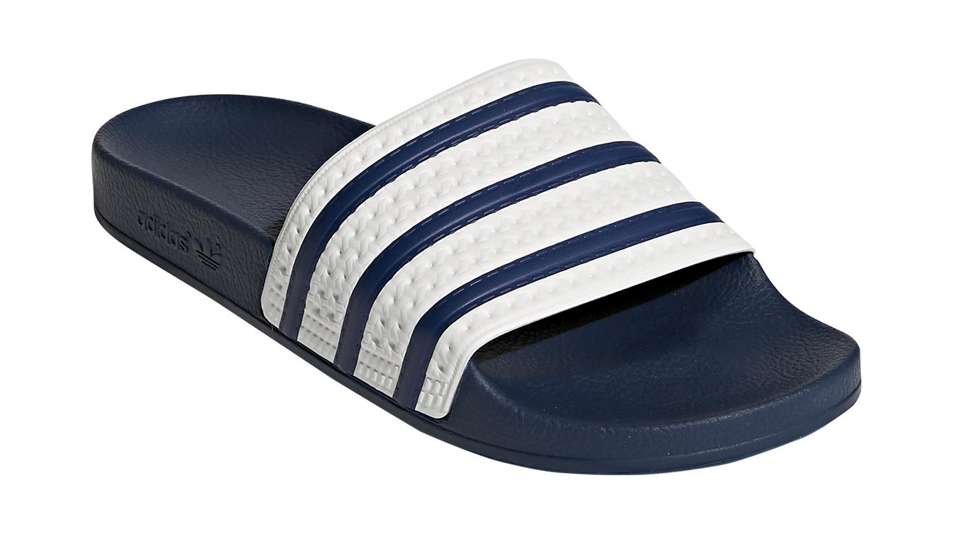 adidas Adilette adiblue modré G16220 - vyskúšajte osobne v obchode
