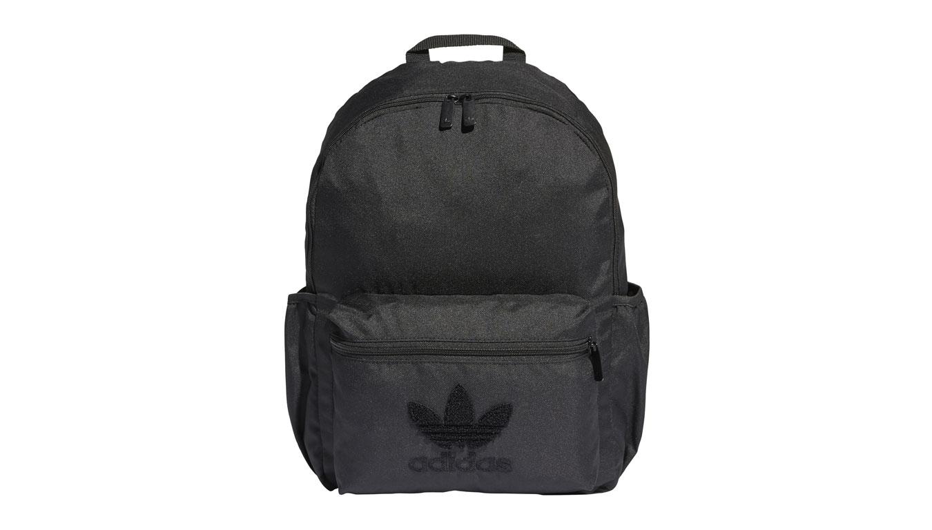adidas Cl Bp Prem Logo Backpack Black čierne FM0724 - vyskúšajte osobne v obchode