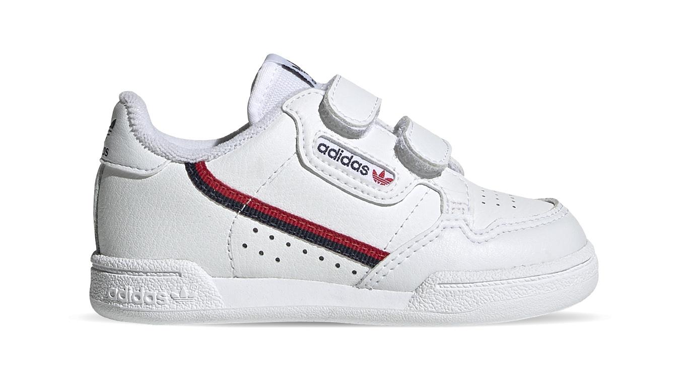 adidas Continental 80 CF Kids biele EH3230 - vyskúšajte osobne v obchode