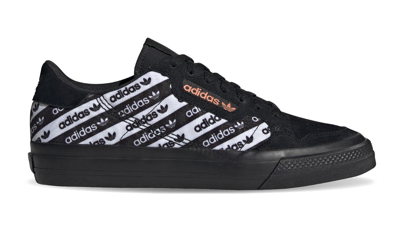 adidas Continental vulc čierne EG8778 - vyskúšajte osobne v obchode