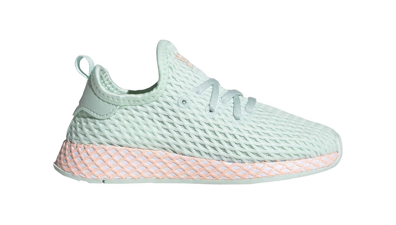 adidas Deerupt Runner I tyrkysové CG7037