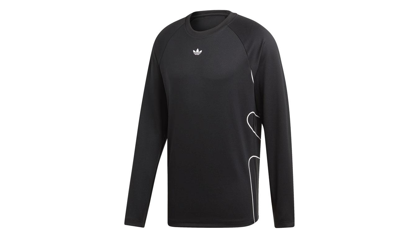 adidas Flamestrike Long Sleeve čierne DU8125 - vyskúšajte osobne v obchode