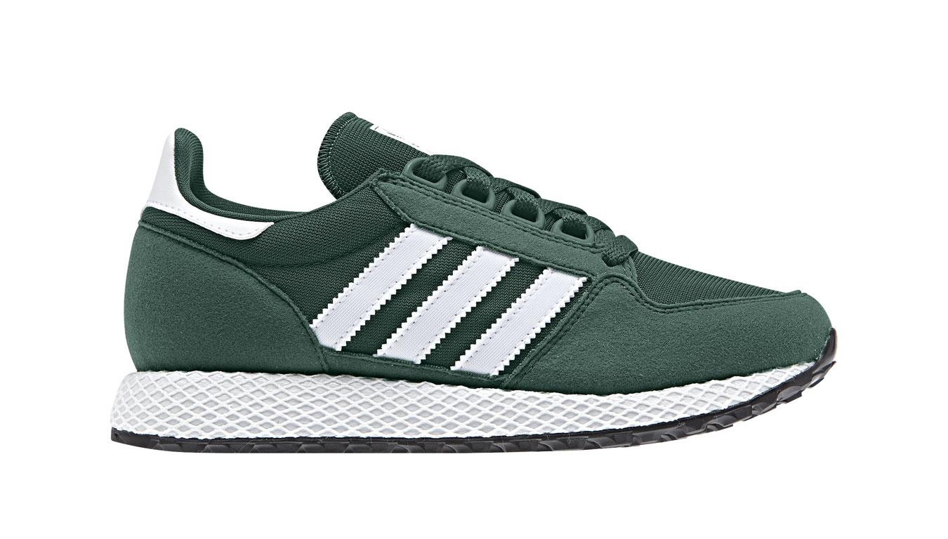 adidas Forest Grove J collegiate green zelené CG6797