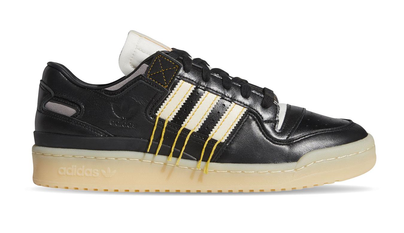 adidas Forum 84 Low Premium čierne FZ3773 - vyskúšajte osobne v obchode