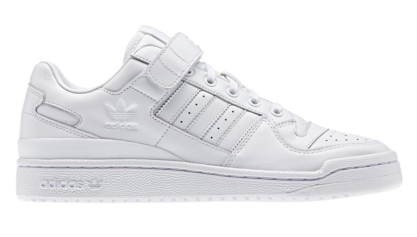 adidas Forum Lo Refined biele BA7276 - vyskúšajte osobne v obchode