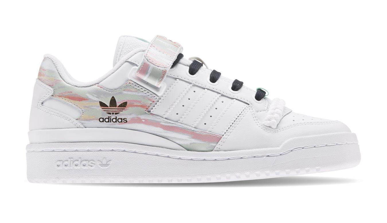 adidas Forum Low W biele FY5119 - vyskúšajte osobne v obchode