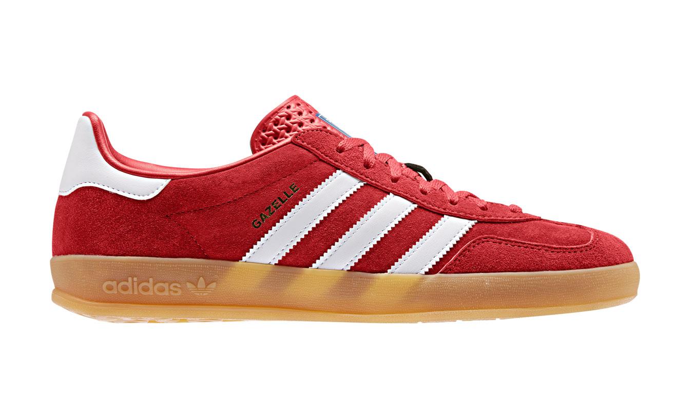 adidas Gazelle Indoor Active Red červené EE5731 - vyskúšajte osobne v obchode