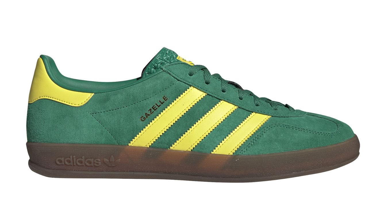 adidas Gazelle Indoor Bold green zelené EE5736 - vyskúšajte osobne v obchode