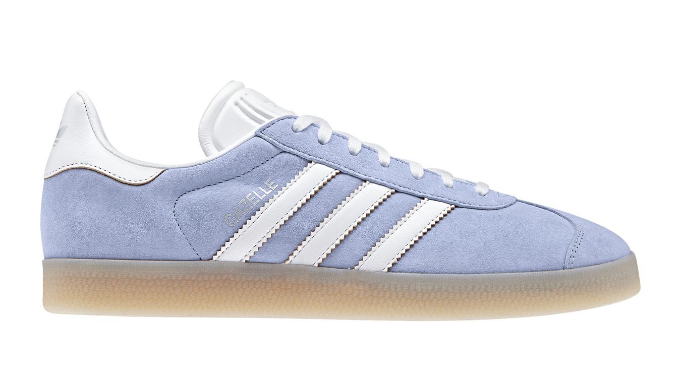 adidas Gazelle W Ecru tint S18 modré CG6059