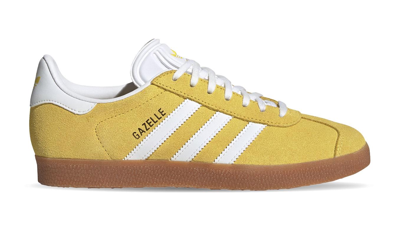 adidas Gazelle W žlté FU9907 - vyskúšajte osobne v obchode