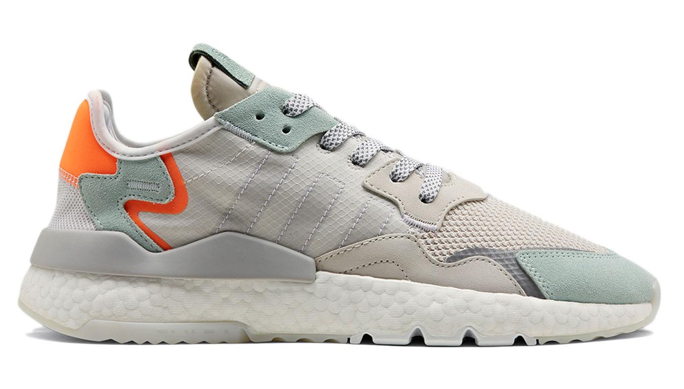 adidas Nite Jogger Clear Grey šedé BD7956 - vyskúšajte osobne v obchode
