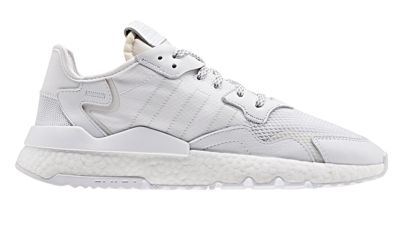 adidas Nite Jogger Crystal White biele BD7676 - vyskúšajte osobne v obchode