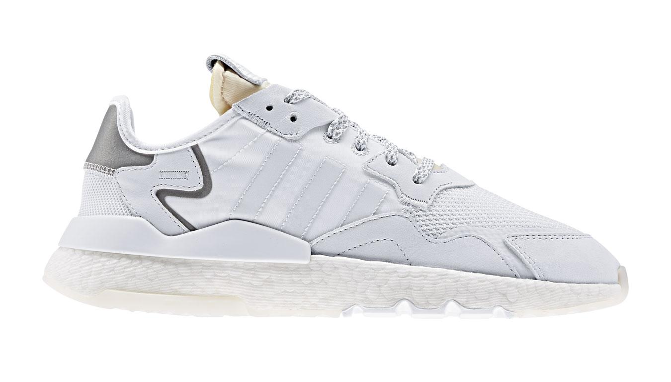 adidas Nite Jogger Crystal White biele EE5855 - vyskúšajte osobne v obchode