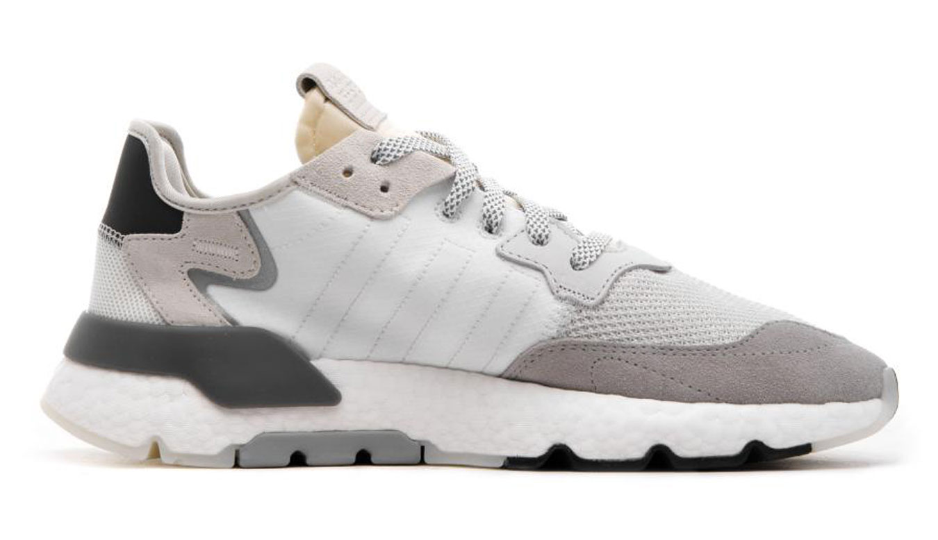 adidas Nite Jogger Ftwr White biele CG5950 - vyskúšajte osobne v obchode