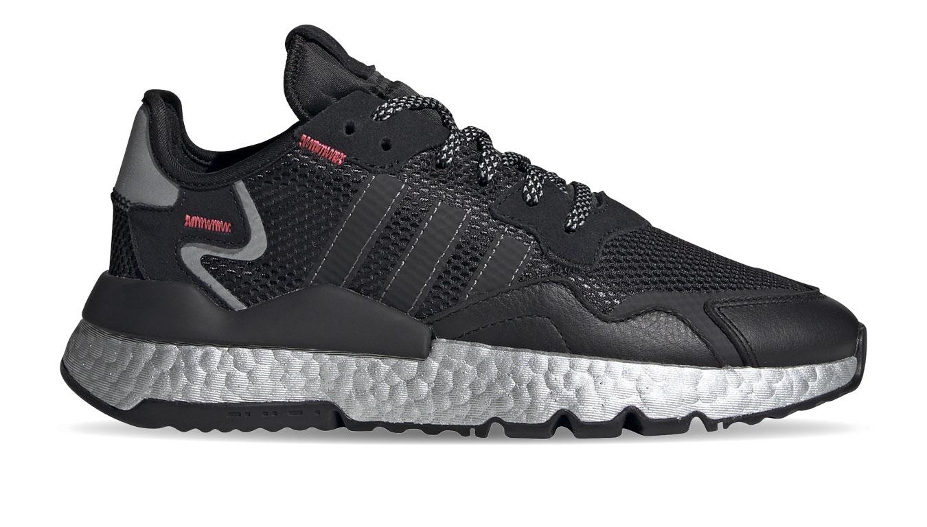 adidas Nite Jogger W čierne FV4137 - vyskúšajte osobne v obchode
