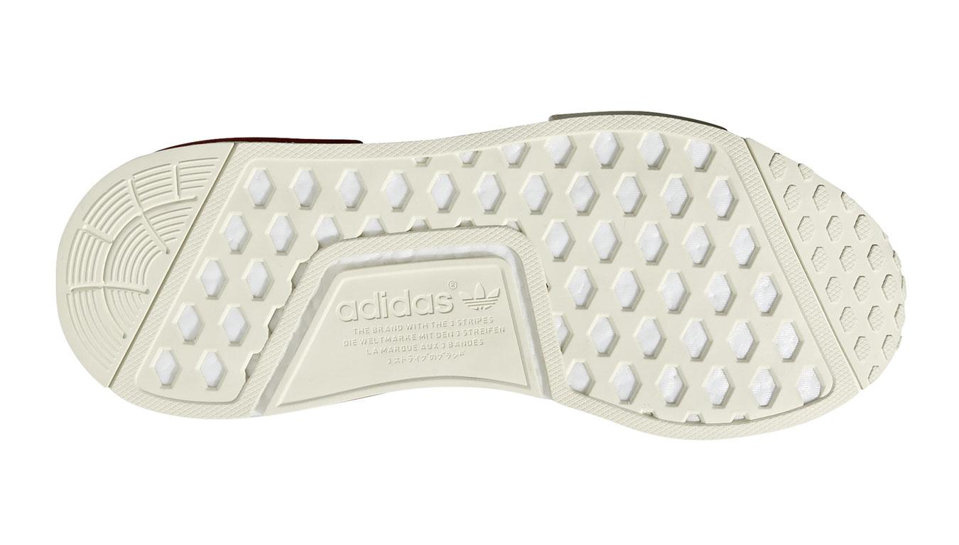 timeless design 4b5d2 8a27d adidas NMD R1 White Lush Red biele B37619